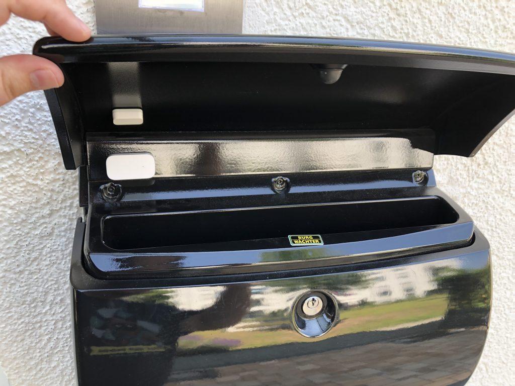 Briefkasten mit Kontaktsensor smart gemacht
